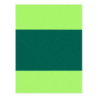 Green - Two Tone Postcard