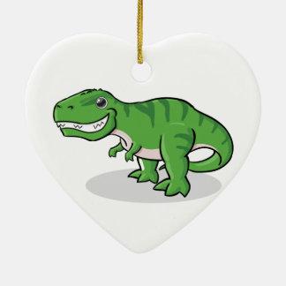 Green Tyrannosaurus Rex (T-Rex) Dinosaur Christmas Ornament
