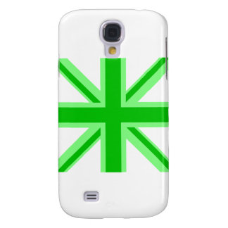 Green Union Jack Samsung Galaxy S4 Cover