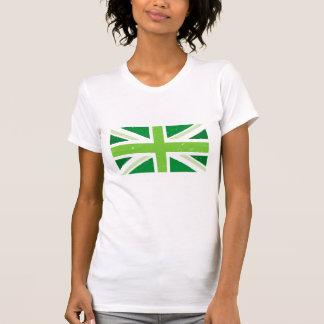 Green union jack T-Shirt