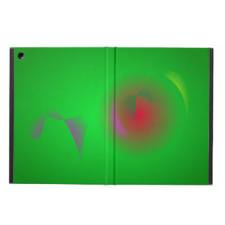 Green Universe and a Red sun iPad Air Case