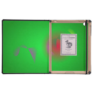 Green Universe and a Red sun iPad Case