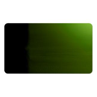 Green Unusual Visual Identifiers Biz Card Pack Of Standard Business Cards