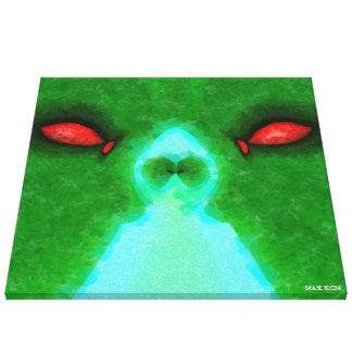 Green Us Canvas Print