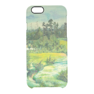 green valley clear iPhone 6/6S case