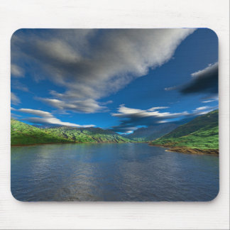 Green Valley Current Mouse Mat