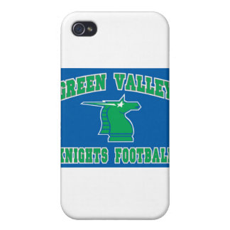 Green Valley Knights Covers For iPhone 4
