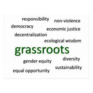 Green values philosophy 1 postcards