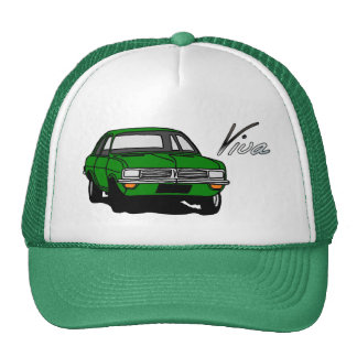 Green Vauxhall Viva HC Cap