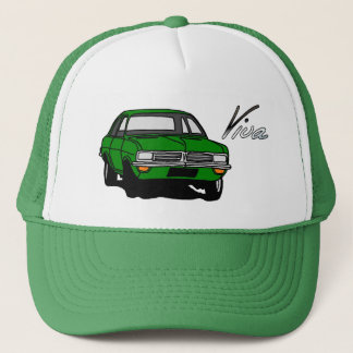 Green Vauxhall Viva HC Trucker Hat