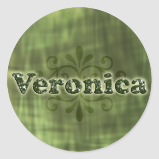 Green Veronica Stickers
