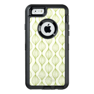 Green vertical ogee pattern background OtterBox iPhone 6/6s case