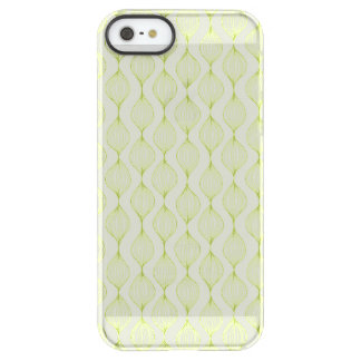 Green vertical ogee pattern background permafrost® iPhone SE/5/5s case