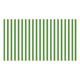 Green Vertical Stripes Business Card Templates