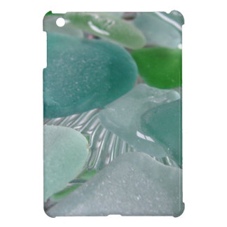 Green Vibrations Green Sea Glass Case For The iPad Mini
