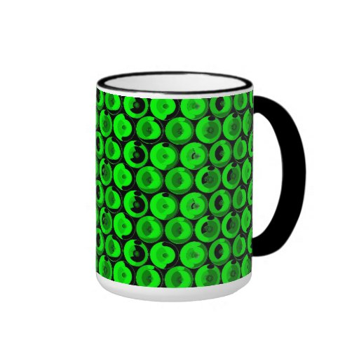 Green Video Game Arcade Buttons Mugs
