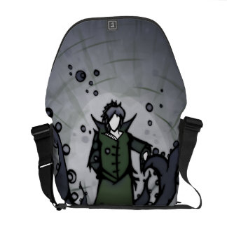 Green & Vine Figure Bag Commuter Bag