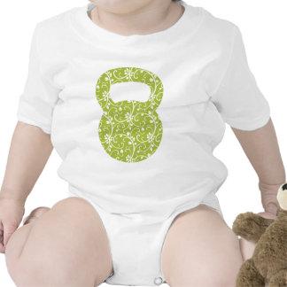 Green Vine Kettlebell T Shirt