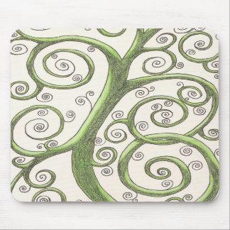 Green Vine Mousepad