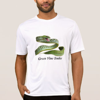 Green Vine Snake Performance Micro-Fiber T Shirt