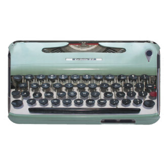 green vintage typewriter iphone case iPod touch covers