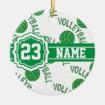 Green Volleyball