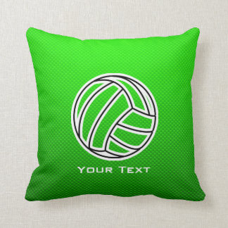 Green Volleyball Cushion