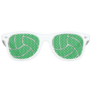 Green Volleyball Party Shades Sunglasses