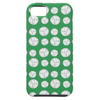 Green volleyballs pattern case for the iPhone 5