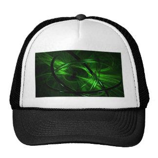 Green Vortex Mesh Hat