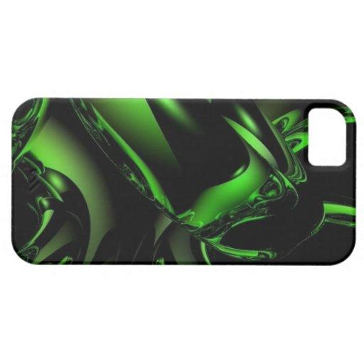 Green Vortex iPhone 5/5s Case