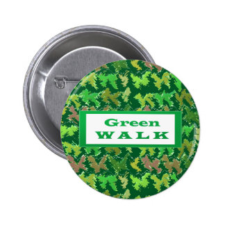 GREEN WALK greenwalk 6 Cm Round Badge