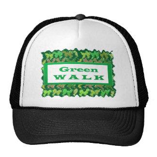 GREEN WALK greenwalk Cap