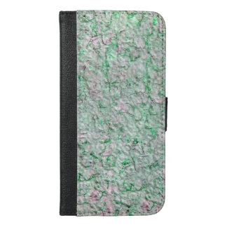 Green wall background iPhone 6/6s plus wallet case