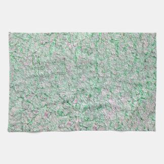 Green wall background tea towel