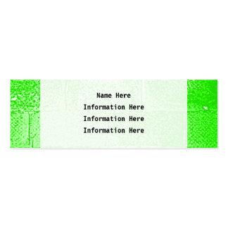 Green Wall Digital Art Business Card Templates