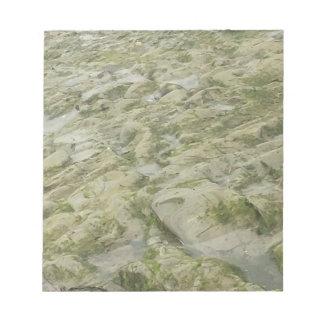 Green Water Rock Notepad