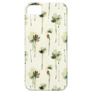 Green Watercolor Floral Case For The iPhone 5