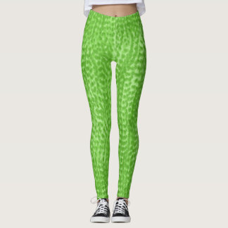 Green Watercolor Legging