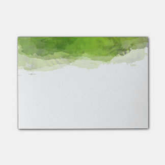 Green Watercolor Post-it® Notes
