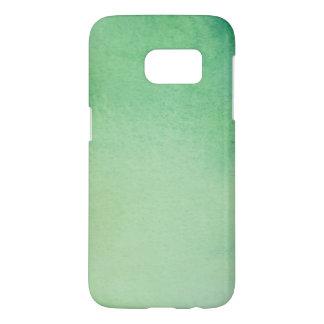 Green Watercolour Marble