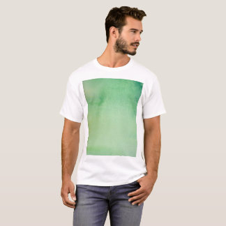 Green Watercolour Marble T-Shirt