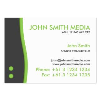 Green Wave Business Card (Light)