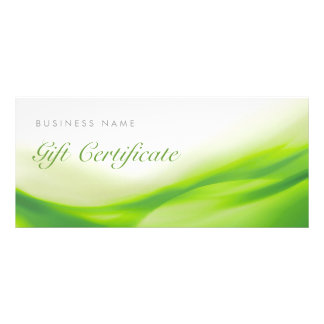 Green Wave Gift Card Certificate