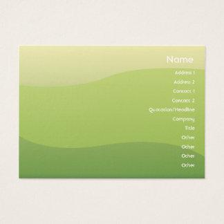 Green Waves - Chubyy Business Card