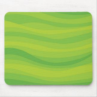Green Waves Mousepad