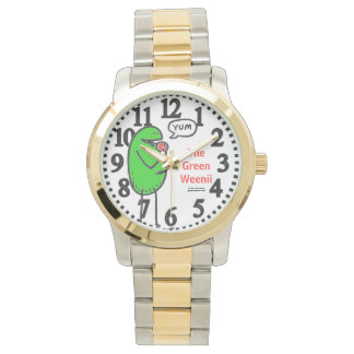 "Green Weenii ""Yum"" Wristwatch"