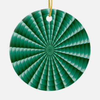 GREEN Wheel Chakra TEMPLATE add TXT IMG Customize Christmas Ornament