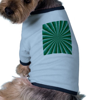 GREEN Wheel Chakra TEMPLATE add TXT IMG Customize Doggie Tee Shirt