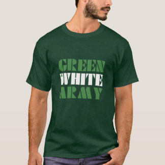 Green & White Army T-Shirt